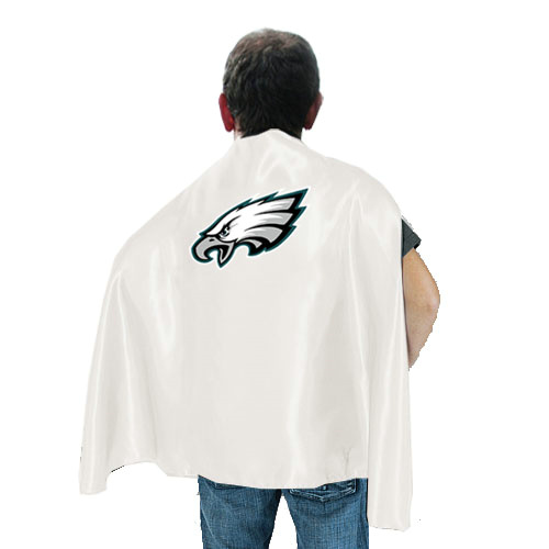 Philadelphia Eagles White Hero Cape