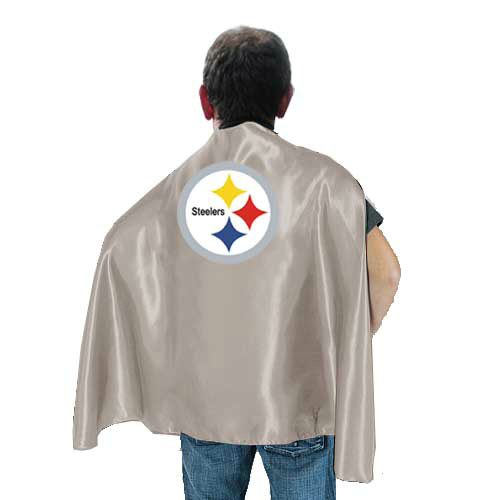Pittsburgh Steelers L.Grey Hero Cape