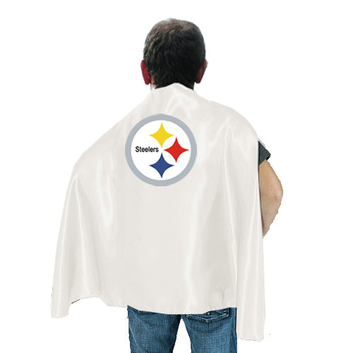 Pittsburgh Steelers White Hero Cape