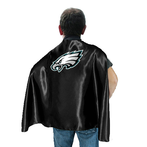 Philadelphia Eagles Black Hero Cape