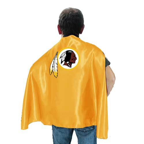 Washington Redskins Yellow Hero Cape