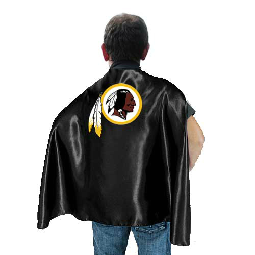 Washington Redskins Black Hero Cape
