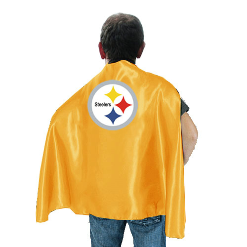 Pittsburgh Steelers Yellow Hero Cape