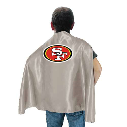 San Francisco 49ers L.Grey Hero Cape
