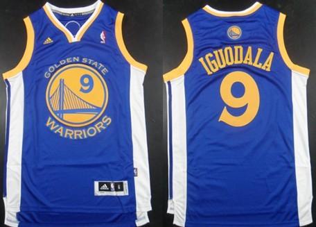 Golden State Warriors #9 Andre Iguodala Revolution 30 Swingman Blue Jersey