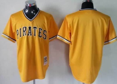Pittsburgh Pirates Customized Black Throwback Jersey