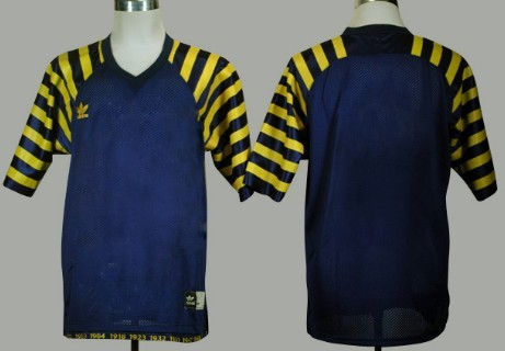 Michigan Wolverines Customized Navy Blue Under The Lights Jersey