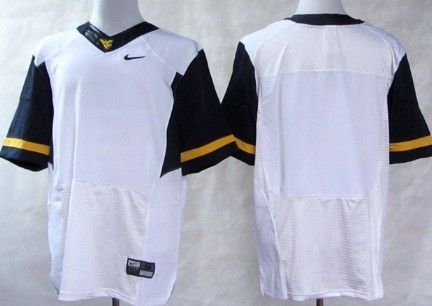 West Virginia Mountaineers Blank 2013 White Jersey