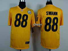 NFL game Jersey Pittsburgh Steelers #88 swann yellow Jersey