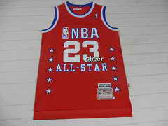 NBA Jersey all star #23 jordan red Jersey