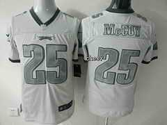 NFL Jersey Philadelphia Eagles #25 mccoy white Jersey