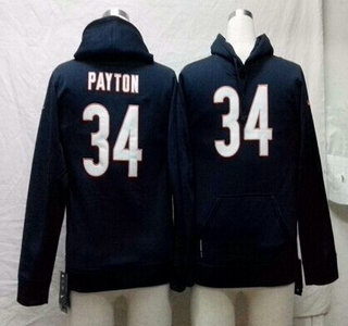 Nike Chicago Bears #34 Walter Payton Blue Kids Hoody
