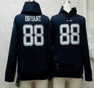 Nike Dallas Cowboys #88 Dez Bryant Blue Kids Hoody