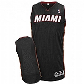 Revolution 30 Miami Heat Blank Black Stitched NBA Jersey