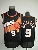 Phoenix Suns #9 Dan Majerle Black Throwback Stitched NBA Jersey