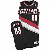 Revolution 30 Blazers #88 Nicolas Batum Black Stitched NBA Jersey