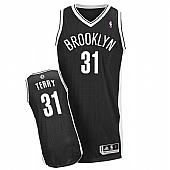 Revolution 30 Brooklyn Nets #31 Jason Terry Black Road Stitched NBA Jersey