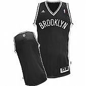 Revolution 30 Brooklyn Nets Blank Black Stitched NBA Jersey