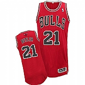 Revolution 30 Bulls #21 Jimmy Butler Red Stitched NBA Jersey