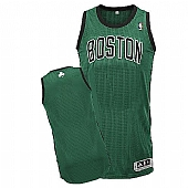 Revolution 30 Celtics Blank Green(Black No.) Stitched NBA Jersey