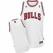 Revolution 30 Chicago Bulls Blank White Stitched NBA Jersey