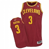 Revolution 30 Cleveland Cavaliers #3 Dion Waiters Red Stitched NBA Jersey
