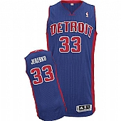 Revolution 30 Detroit Pistons #33 Jonas Jerebko Blue Stitched NBA Jersey
