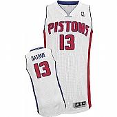 Revolution 30 Detroit Pistons #13 Gigi Datome White Stitched NBA Jersey