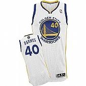 Revolution 30 Golden State Warriors #40 Harrison Barnes White Stitched NBA Jersey