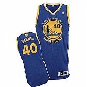 Revolution 30 Golden State Warriors #40 Harrison Barnes Blue Stitched NBA Jersey