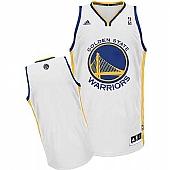 Revolution 30 Golden State Warriors Blank White Stitched NBA Jersey