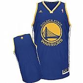 Revolution 30 Golden State Warriors Blank Blue Stitched NBA Jersey