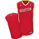 Revolution 30 Houston Rockets Blank Red Alternate Stitched NBA Jersey