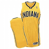Revolution 30 Indiana Pacers Blank Yellow Stitched NBA Jersey