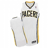 Revolution 30 Indiana Pacers Blank White Stitched NBA Jersey
