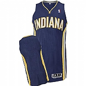 Revolution 30 Indiana Pacers Blank Navy Blue Stitched NBA Jersey