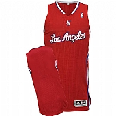 Revolution 30 Los Angeles Clippers Blank Red Stitched NBA Jersey