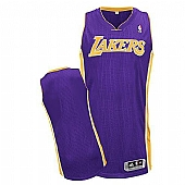 Revolution 30 Los Angeles Lakers Blank Purple Stitched NBA Jersey