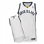 Revolution 30 Memphis Grizzlies Blank White Stitched NBA Jersey