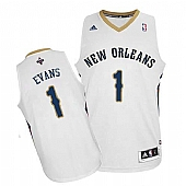 Revolution 30 New Orleans Pelicans #1 Tyreke Evans White Stitched NBA Jersey