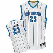 Revolution 30 New Orleans Hornets #23 Anthony Davis White Stitched NBA Jersey