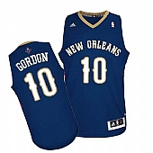 Revolution 30 New Orleans Pelicans #10 Eric Gordon Navy Stitched NBA Jersey