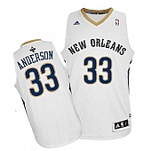 Revolution 30 New Orleans Pelicans #33 Ryan Anderson White Stitched NBA Jersey
