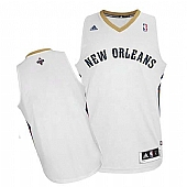Revolution 30 New Orleans Pelicans Blank White Stitched NBA Jersey