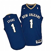 Revolution 30 New Orleans Pelicans #1 Tyreke Evans Navy Stitched NBA Jersey