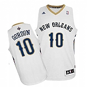 Revolution 30 New Orleans Pelicans #10 Eric Gordon White Stitched NBA Jersey