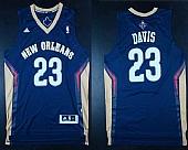 Revolution 30 Pelicans #23 Anthony Davis Navy Stitched NBA Jersey