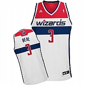 Revolution 30 Washington Wizards #3 Bradley Beal White Stitched NBA Jersey