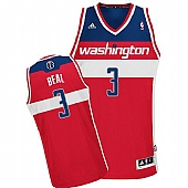 Revolution 30 Washington Wizards #3 Bradley Beal Red Stitched NBA Jersey