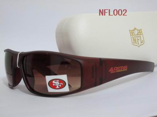 NFL San Francisco 49ers Full-Rim Sunglasses NFL002